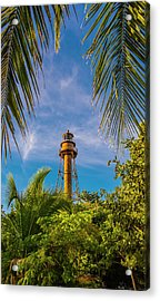 Acrylic Print featuring the photograph Sanibel Lighthouse by Steven Ainsworth