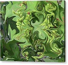 Sanibel Seagrapes Acrylic Print