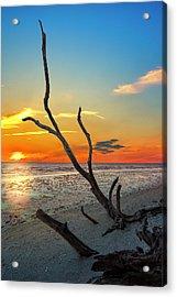 Sanibel Sunrise Acrylic Print by Marvin Spates