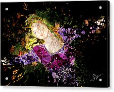 Sanja Dances - Extended Acrylic Print by Sora Neva