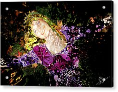 Sanja Dances Acrylic Print by Sora Neva