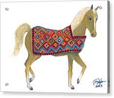 Sanjabi Pony Acrylic Print