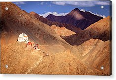 Acrylic Print featuring the photograph Sankar Monastery by Alexey Stiop