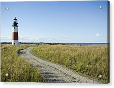 Sankaty Head Lighthouse, Nantucket Acrylic Print by Jack Flash