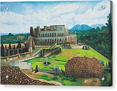 Sanssouci Palace Acrylic Print by Antoine Belale