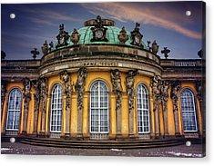 Sanssouci Palace In Potsdam Germany  Acrylic Print by Carol Japp