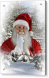 Santa 1 Acrylic Print