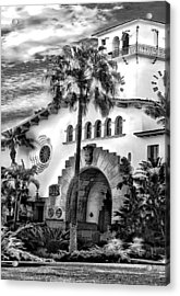 Santa Barbara City Hall Triptych_part2 Acrylic Print