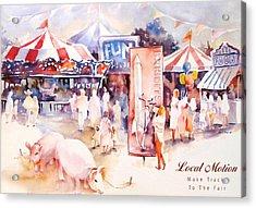 Santa Barbara County Fair  Acrylic Print by Joan  Jones