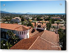 Santa Barbara From Above Acrylic Print