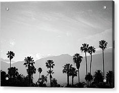 Santa Barbara I Bw Acrylic Print