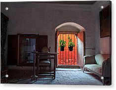 Santa Catalina Monastery Window Acrylic Print by Jess Kraft