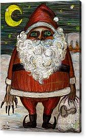 Santa Claus By Akiko Acrylic Print