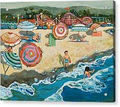 Santa Cruz Beach Boardwalk Acrylic Print