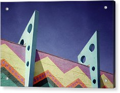 Santa Cruz Boardwalk - Photography  By Linda Woods Acrylic Print