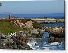 Santa Cruz Ca Acrylic Print