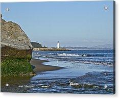 Santa Cruz Coastline - California Acrylic Print by Brendan Reals