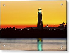 Santa Cruz Lighthouses Acrylic Print