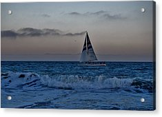 Santa Cruz Sail Acrylic Print