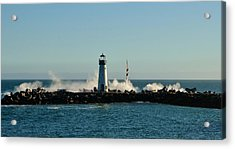 Santa Cruz Walton Lighthouse Acrylic Print