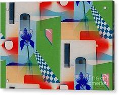 Santa Fe Adobe - #1 Acrylic Print
