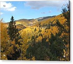 Santa Fe Autumn View Acrylic Print