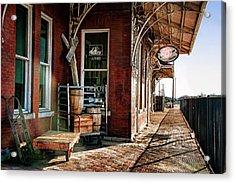 Santa Fe Depot Of Guthrie Acrylic Print