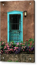 Santa Fe Door #1 Acrylic Print