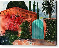 Santa Fe Dwelling Acrylic Print