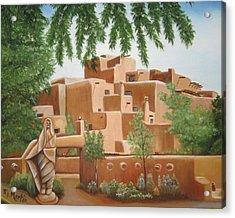 Santa Fe Garden Acrylic Print