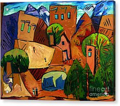 Santa Fe On My Mind Acrylic Print