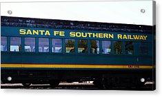 Santa Fe Train Acrylic Print