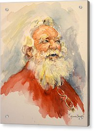 Santa Is That You Acrylic Print
