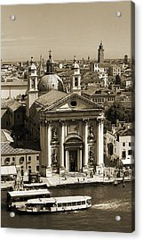 Santa Maria Del Rosario Acrylic Print by Terence Davis