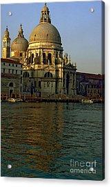 Santa Maria Della Salute In Venice In Morning Light Acrylic Print by Michael Henderson