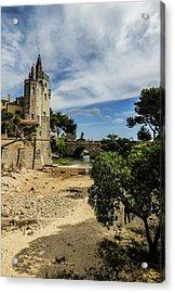 Santa Marta Beach In Cascais, Portugal Acrylic Print