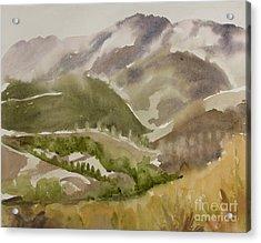 Santa Monica Mountains California Acrylic Print