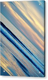 Acrylic Print featuring the photograph Santa Monica Sunset by Kyle Hanson