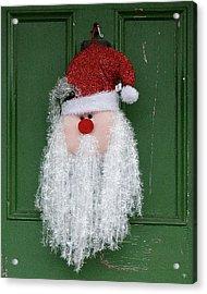 Santa On Henry Street Acrylic Print