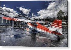 Santa Paula Airport Acrylic Print by Lachlan Kay