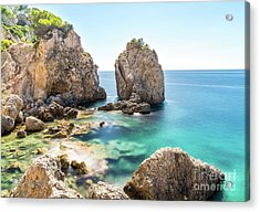 Acrylic Print featuring the photograph Santa Ponsa, Mallorca, Spain by Hans- Juergen Leschmann