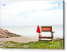 Acrylic Print featuring the photograph Santa Vacation by Sandy Adams