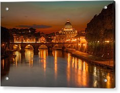 Sant'angelo Bridge Acrylic Print