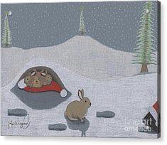 Santa's Ultimate Gift Acrylic Print