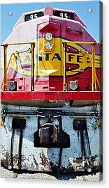 Sante Fe Railway Acrylic Print by Kyle Hanson