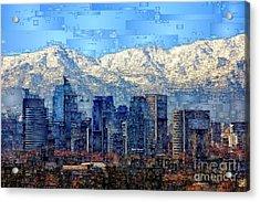 Santiago De Chile, Chile Acrylic Print