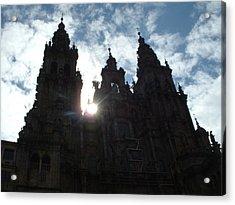 Santiago De Compostela Acrylic Print by Lara Henderson