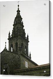 Santiago De Compostela Steeple Acrylic Print by Halle Treanor