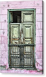 Santiago Portal Acrylic Print by Dawn Currie