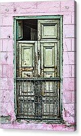 Santiago Portal Acrylic Print